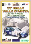 33° Rally Valle d'Aosta